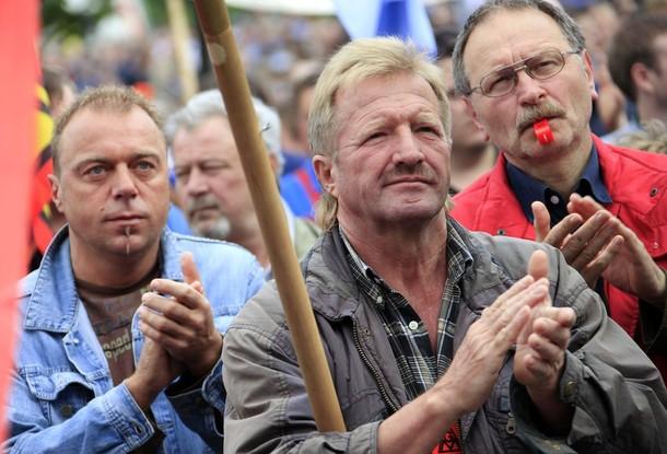nemacki radnic metalski sindikat