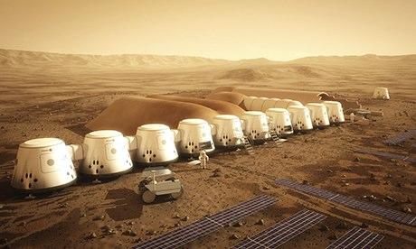 Umetničko viđenje misije Mars 1. foto: Observer, gardijan