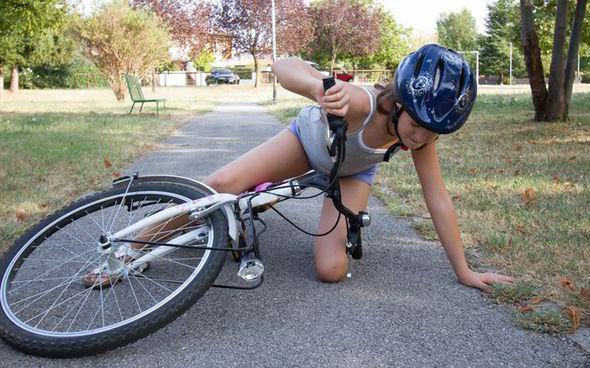 pad sa bicikla