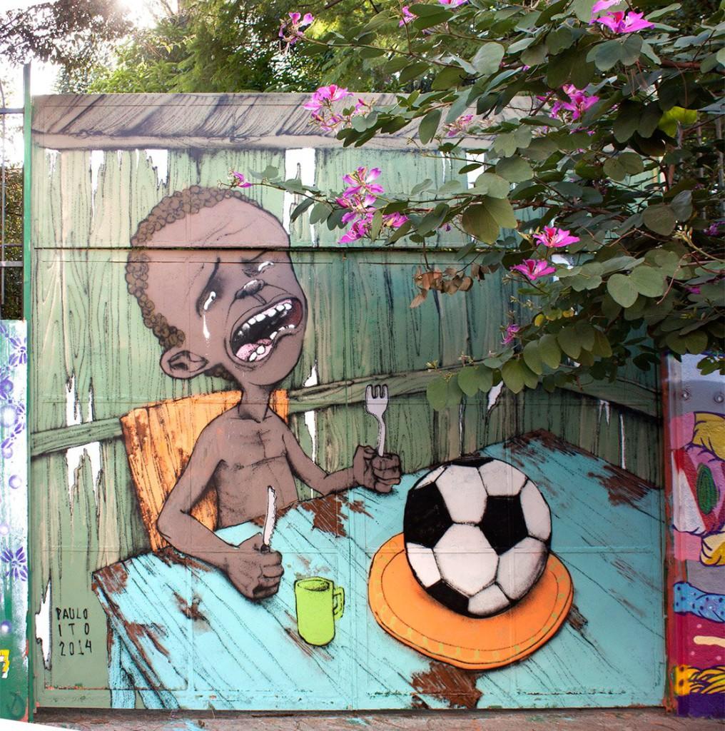 brasil fudbal grafiti 1