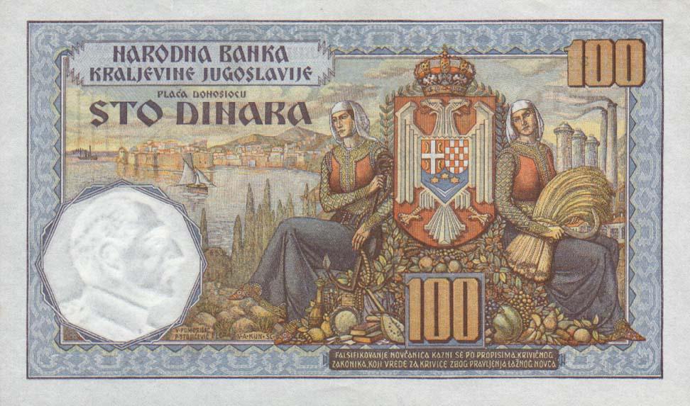 jugoslavija nedic novcanica