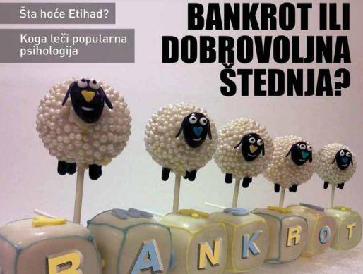 bankrot stednja