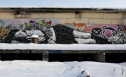 mural moskva