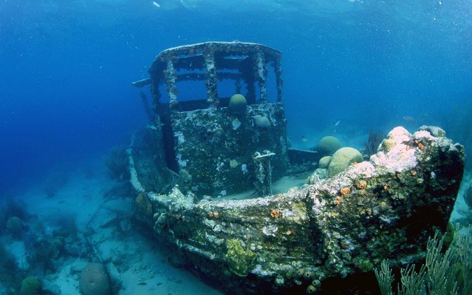 potopljeni brod
