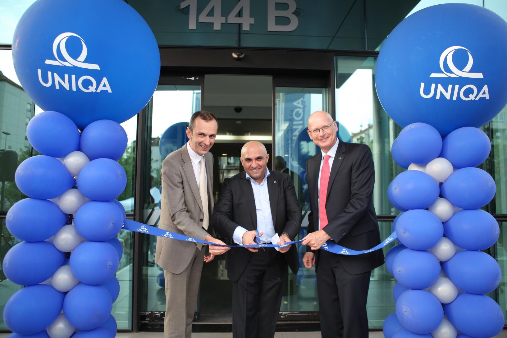 Nikola Djukic, UNIQA osiguranje, Zeljko Buricic, vlasnik agencije Team Buricic i Franc Vajler, UNIQA