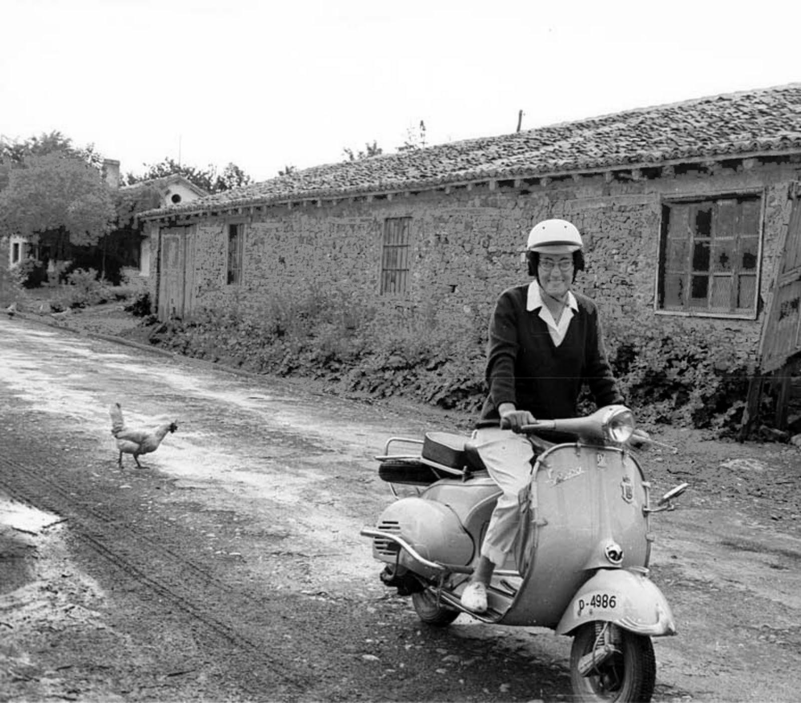 Piedad en moto