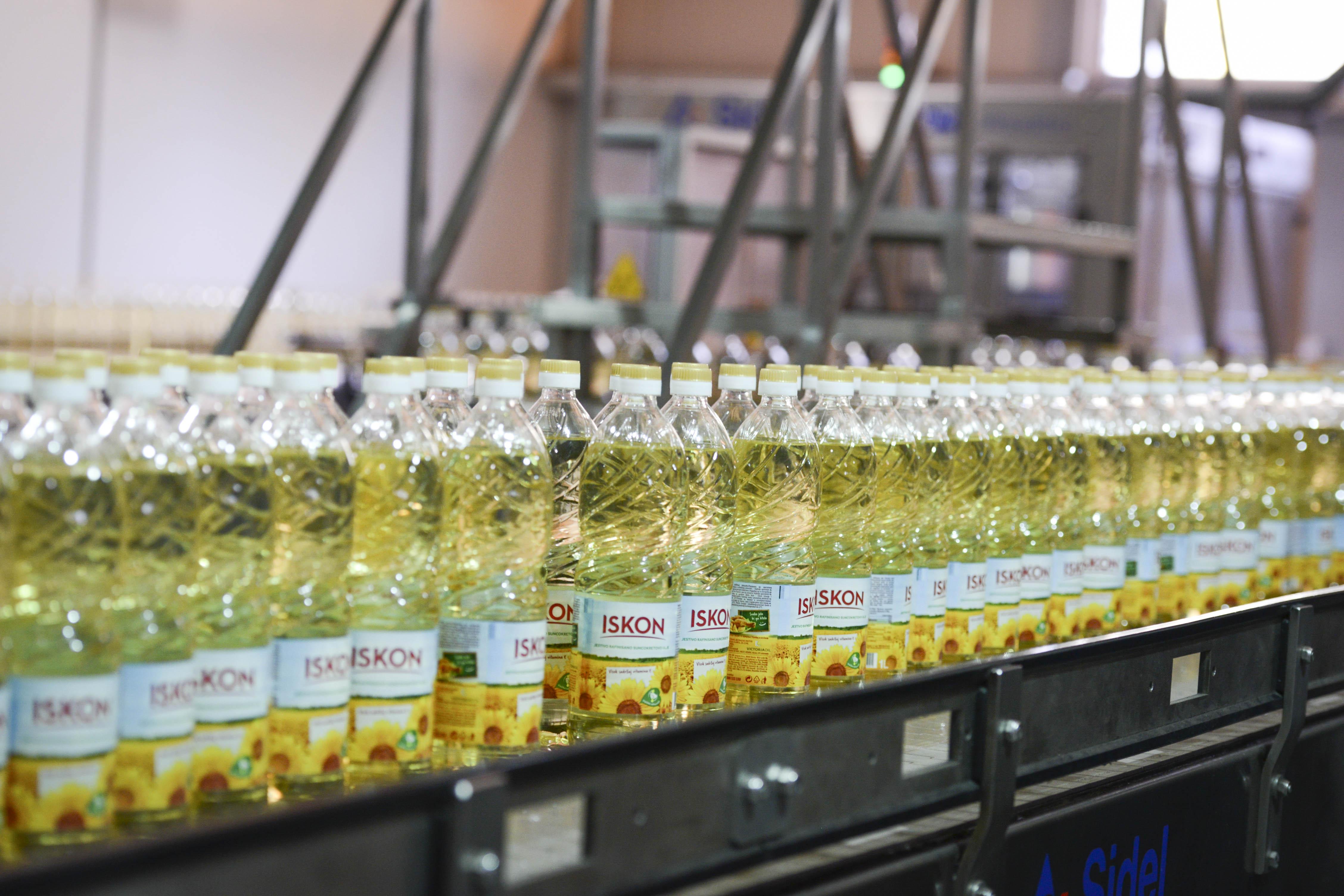 Proizvodna linija Iskon ulja 2