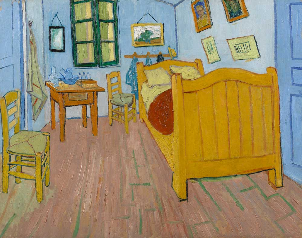 The-bedroom-1888-Van-Gogh