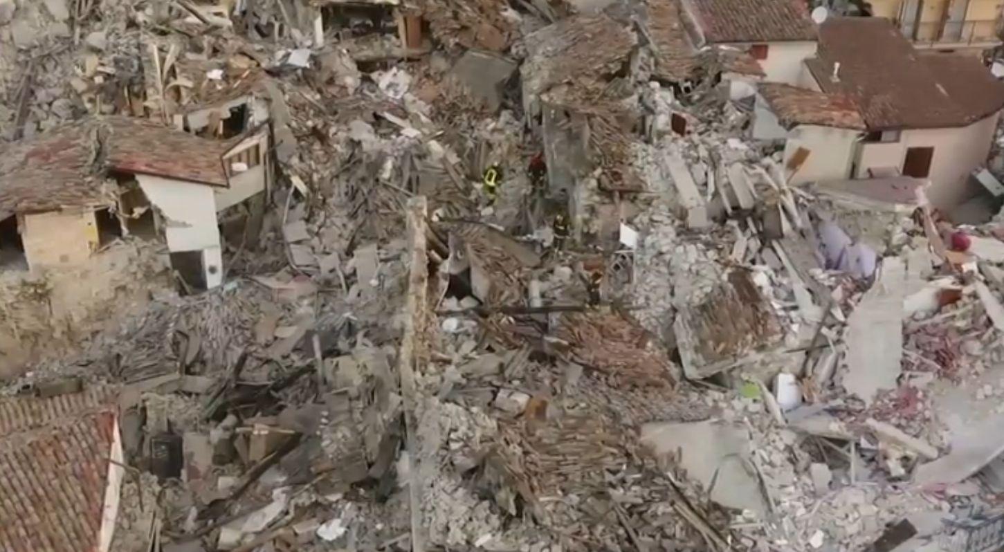 amatrice posle zemljotresa