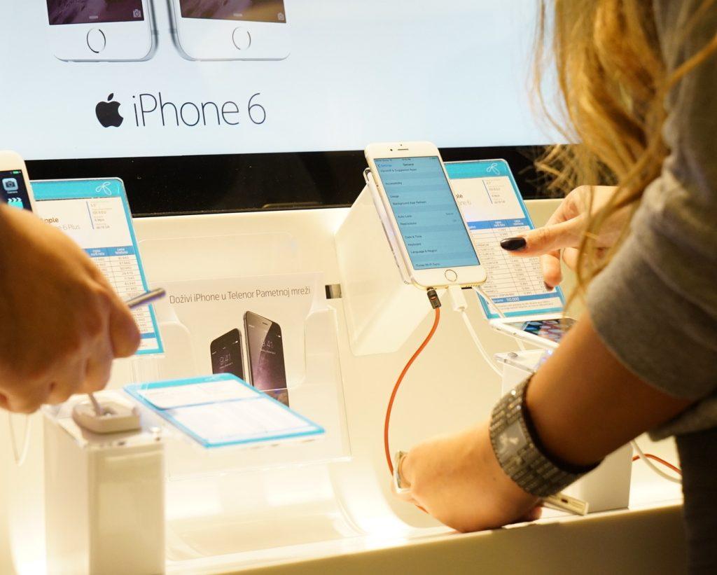 iPhone u Telenor prodavnici