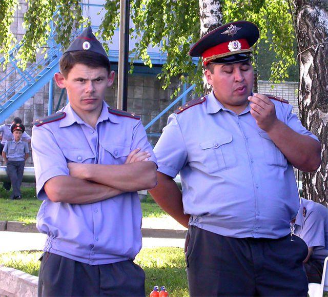 ruski policajci