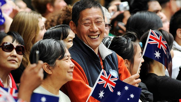 kinezi australija